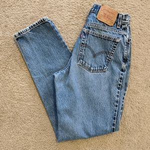 Vintage Levi's 550 High Rise Tapered Leg Mom Jeans
